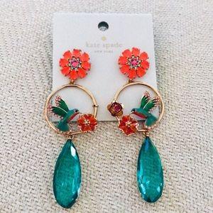 ♠️ Kate Spade Scenic Route Hummingbird Earrings